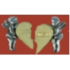 GUARDIAN ANGEL PIN BEST FRIENDS PIN FOR BOTH DX