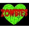 ZOMBIES PIN LOVE BRAINS PIN