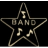 BAND STAR MUSIC PIN