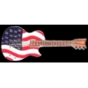 AMERICAN UNITED STATES USA FLAG GUITAR PIN DX