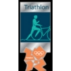 OLYMPICS 2012 LONDON TRIATHALON PIN