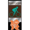 OLYMPICS 2012 LONDON ROAD CYCLING PIN