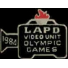 LOS ANGELES POLICE DEPT VIDEO CAMERA UNIT OLYMPIC 84