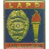 LOS ANGELES POLICE DEPT JAIL BLUE OLYMPIC 84