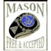 MASON FREE AND ACCEPTED SQUARE PIN