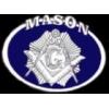 MASON PIN OVAL MASONIC PIN