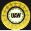 U A W UNION LOGO PIN