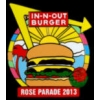 IN-N-OUT BURGER PIN ROSE PARADE 2013 PIN