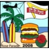 IN-N-OUT BURGER PIN ROSE PARADE 2008 PIN