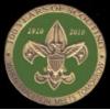 BOY SCOUTS PIN 100TH ANNIVERSARY PIN GREEN