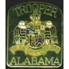 ALABAMA STATE TROOPER MINI PATCH PIN