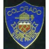 COLORADO STATE PATROL MINI PATCH PIN