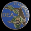 DEA DRUG ENFORCEMENT AGENCY FT LAUDERDALE OFFICE PIN