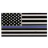 LAW ENFORCEMENT THIN BLUE LINE US FLAG PIN