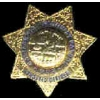 CHP CALIFORNIA HIGHWAY PATROL TRAFFIC OFFICER 502 MINI BADGE PIN