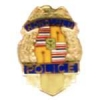 HONOLULU, HI POLICE SHIELD BADGE PIN