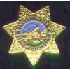 CALIFORNIA STATE INVESTIGATOR MINI BADGE PIN