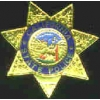 CALIFORNIA STATE POLICE MINI BADGE PIN