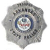 ARKANSAS STATE POLICE PIN TROOPER BADGE PIN