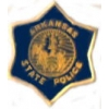 ARKANSAS STATE POLICE PIN PATCH PIN