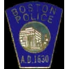 BOSTON, MA POLICE DEPARTMENT MINI PATCH PIN