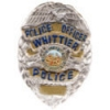 WHITTIER, CA POLICE OFFICER MINI BADGE PIN