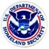 DEPARTMENT OF HOMELAND SECURITY LOGO PIN