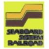 SEABOARD SYSTEM RAILROAD LOGO SQ PIN