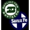 BURLINGTON NORTHERN AND SANTA FE RAILROAD MERGER PIN VERSION 2