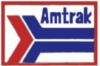 AMTRAK PIN RAILROAD SQUARE LARGE LOGO AMTRAK PIN