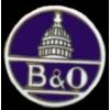 B AND O RAILROAD PIN