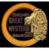 CHICAGO GREAT WESTERN RAILROAD LOGO PIN