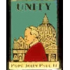 POPE JOHN PAUL UNITY PIN