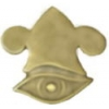 ALL SEEING EYE PIN MITHRAIC CAP PIN
