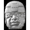 OLMEC COLOSSAL HEAD PIN