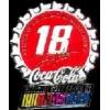 COKE NASCAR BOBBY LABONTE BOTTLE CAP DX