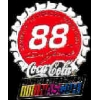 COKE NASCAR DALE JARRETT BOTTLE CAP DX