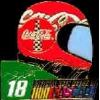 COKE NASCAR BOBBY LABONTE HELMET DX