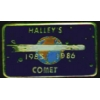 HALLEYS COMET 1985 1986 COMMEMORATIVE PIN