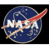 NASA LOGO PIN LARGE VERSION