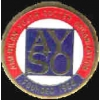 AMERICAN YOUTH SOCCER LOGO AYSO PIN