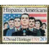 HONORING HISPANIC AMERICANS STAMP PIN