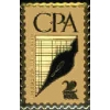 CPA CERTIFIED PUBLIC ACCOUNTANT STAMP PIN