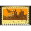 AMERICA THE BEAUTIFUL DESERT SCENE STAMP PIN