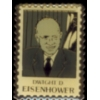 DWIGHT D EISENHOWER STAMP PIN