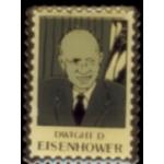 DWIGHT D EISENHOWER STAMP PIN