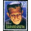 FRANKENSTEIN HOLLYWOOD MONSTER STAMP PIN DX PIN