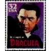 DRACULA PIN HOLLYWOOD MONSTER STAMP PIN DX