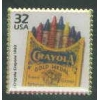 CRAYOLA COLOR CRAYONS STAMP PIN