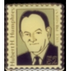 HUBERT HUMPHREY STAMP PIN